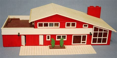 Plasticville Ho Model Railroad Plastic Building Kits Lot Modern Design Ho