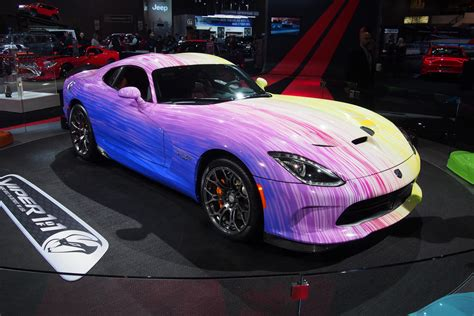 dodge quot colors us quot surprised with flamboyant viper 187 autoguide news