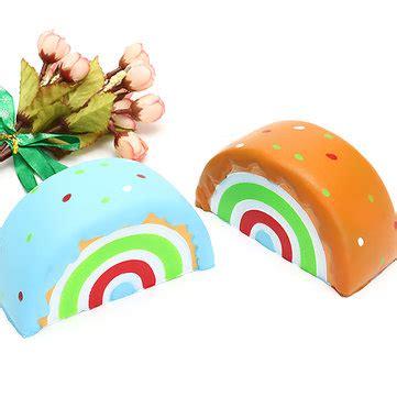 Squishy Rainbow Meses Eric Squishy Rainbow Cake 10cm Rising Original