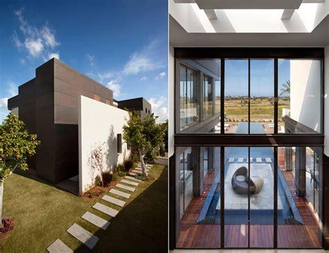 modern villas modern luxury villas designed by gal marom architects