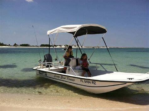 scotty boat rentals panama city beach florida scottyboat rentals pontoon fishing boat rentals