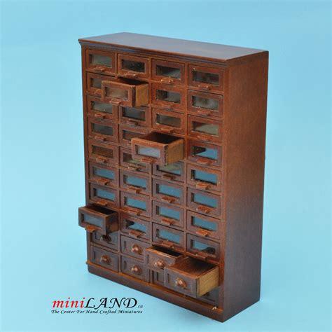 deco dollhouse store haberdasher 40 drawer unit deco dollhouse