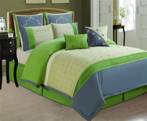 Set As Greeny top 25 ideas about lime green bedding on