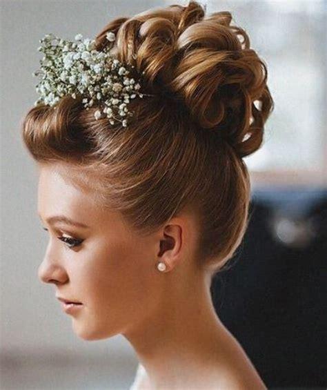 wedding hair curly bun wedding hairstyles curly bun vizitmir