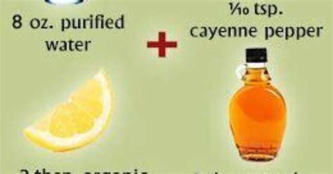 Lemonade Detox Recipe Ingredients by Master Cleanse Lemonade Diet Recipe Ingredients And