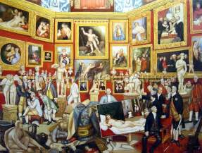 Home Interior Wholesale Johann Zoffany The Tribuna Of The Uffizi Oil Paintings
