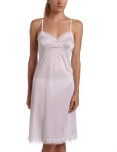vanity fair s rosette lace slip 10103 womens