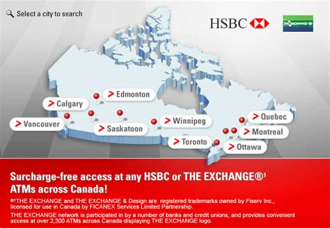 bank address hsbc branch locations canada hsbc bank locations