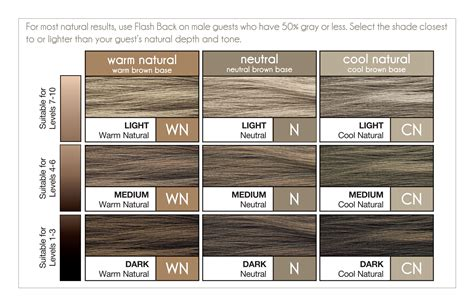 paul mitchell hair color chart paul mitchell flash back for swatch chart paul