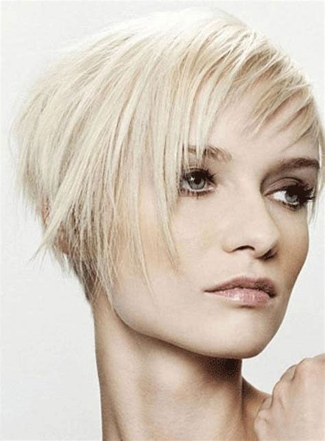 are asymmetrical haircuts good for thin hair trendy short hairstyles for girls with thin hair new