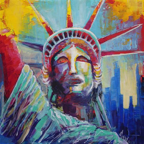 lade stile liberty statue of liberty usa wall new york city liberty