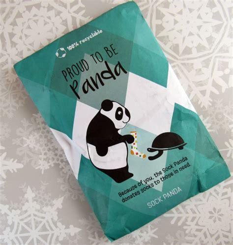 sock panda sock december 2016 subscription review hello