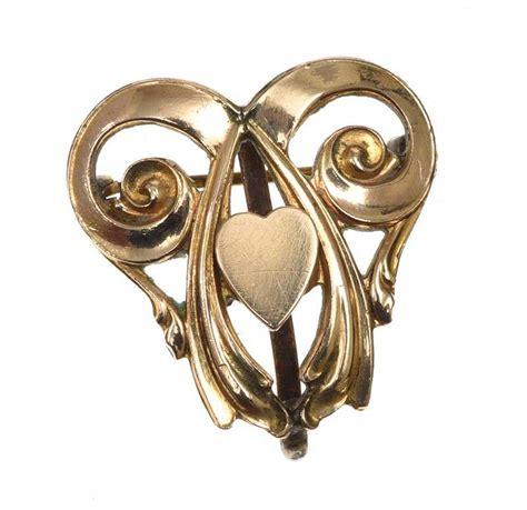 Metal Brooch gold tone metal brooch clip