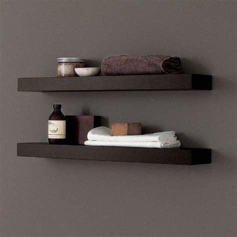 adatto casa 700mm wenge bathroom floating shelf modern