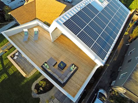 solar panel house plans unexpected roof design for solar panels in this net zero home