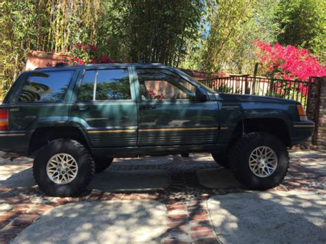 jeep grand limited 4x4 i a 1994 jeep grand lifted 1994 jeep grand limited 4x4 v8 for sale in