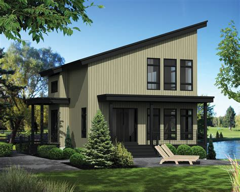 modern style house plan 2 beds 2 baths 1165 sq ft plan