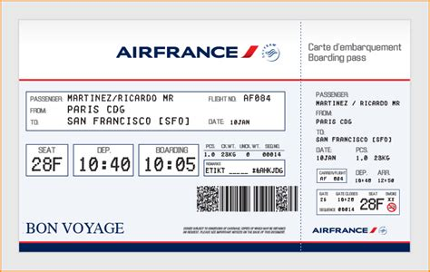 plane ticket large airline tickets order novelty airline tickets