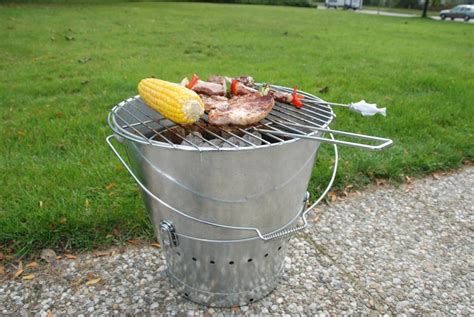 Your Own Portable Barbecue by Portable Bbq Five Gallon Ideas