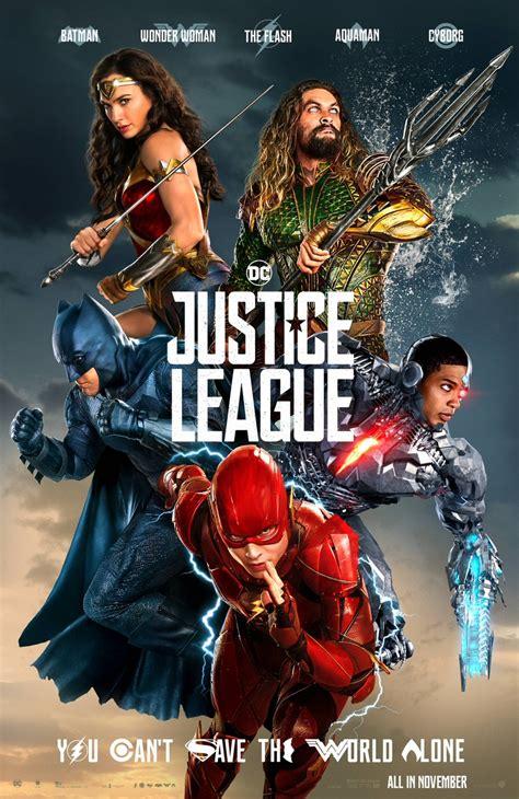 justice league film plot justice league unveils new poster sans superman collider