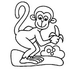 what color are monkeys free coloring pages of monkey to color