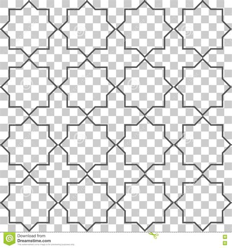 simple islamic pattern vector simple background islamic shape stock vector image