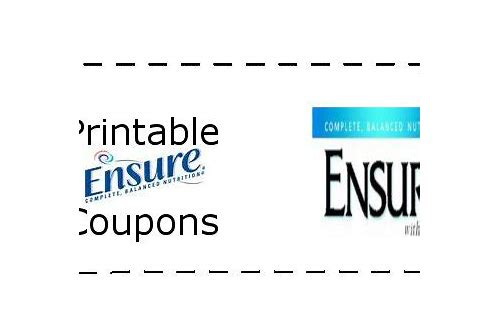 ensure drink coupons 2018