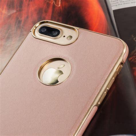 olixar makamae leather style iphone   case rose gold