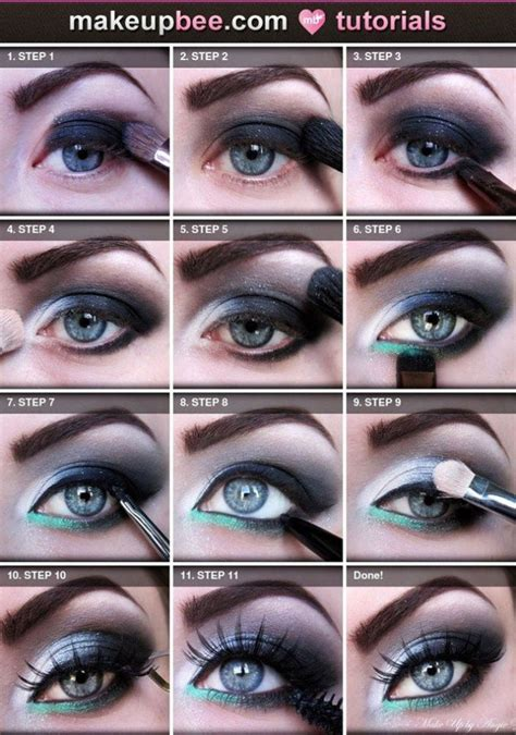eyeshadow tutorial for blue eyes makeup tips that will make the blue in your eyes pop
