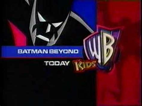 late 90s kids wb promo w/men in black, batman beyond youtube