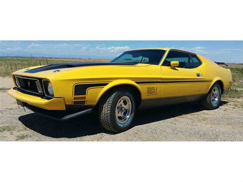 one for sale 1973 ford mustang mach 1 for sale classiccars cc