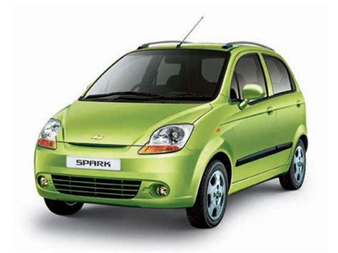gm car models list chevrolet spark models and price list in delhi mumbai