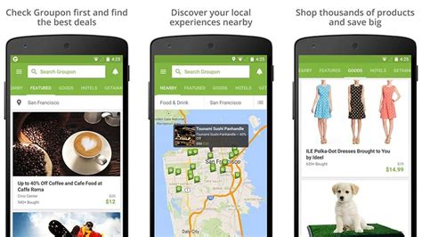 groupon mobile app 10 best shopping apps for android android authority