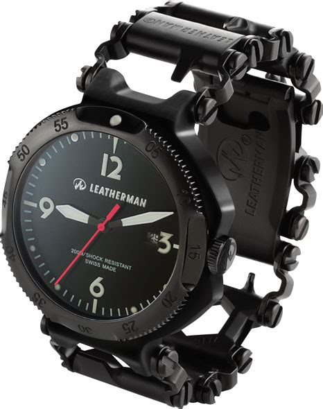 Leatherman Tread Multi Tool Bracelet ? and a Watch Too!