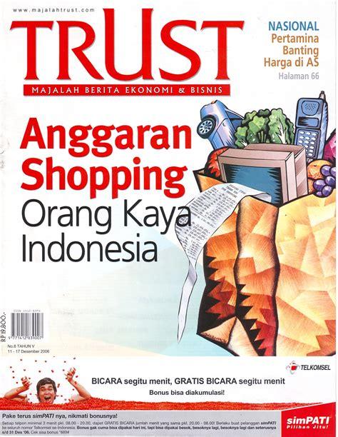 Majalah Indonesia Juni 2006 Doriane 2006 strategi bisnis dan ekonomi aditiawan chandra