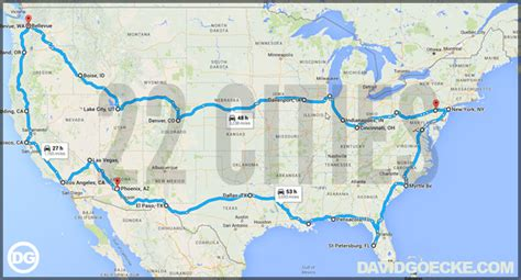 road maps route planner usa planning a road trip around the usa in 30 days