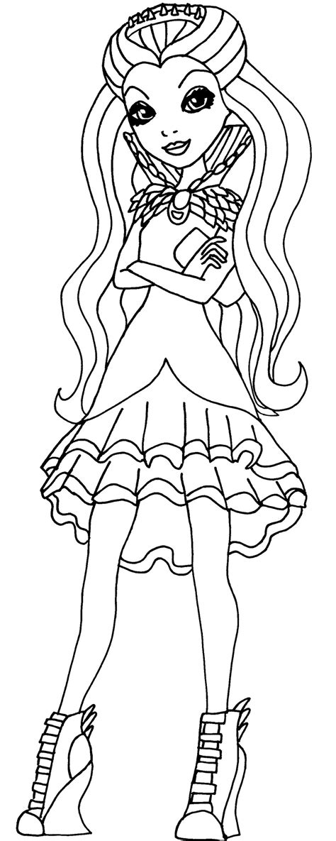 ever after high raven queen legacy day coloring pages raven queen coloring pages legacy day