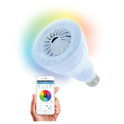 bluetooth light bulb speaker home depot bayit home automation beat bluetooth speaker with led