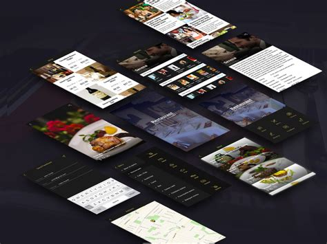 restaurant app template agilie digest free template for a restaurant app