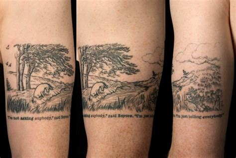 winnie the pooh quote tattoos winie the pooh theme tattoomagz