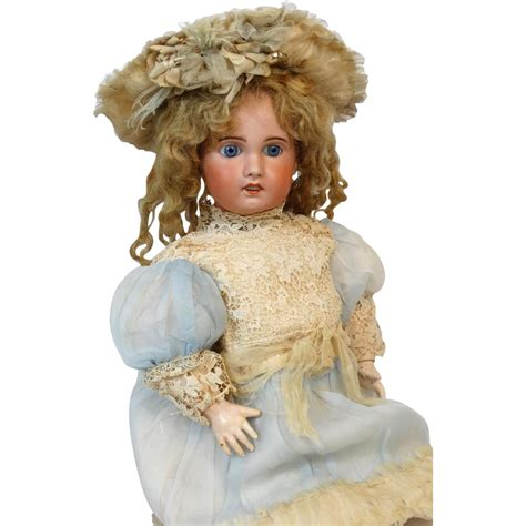 bisque antique doll antique sfbj bisque doll from tantelinas dolls