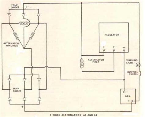penntex alternator wiring diagram delco alternator wiring
