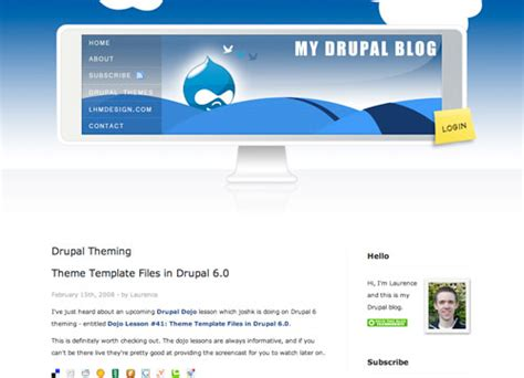 tutorial adding configuring and using the drupal blog create a killer band site in drupal part 6 additional
