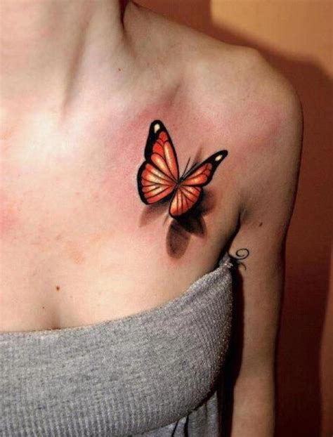 Butterfly Tattoos Their Meanings Pretty Designs 3 D Tattoos Butterfly