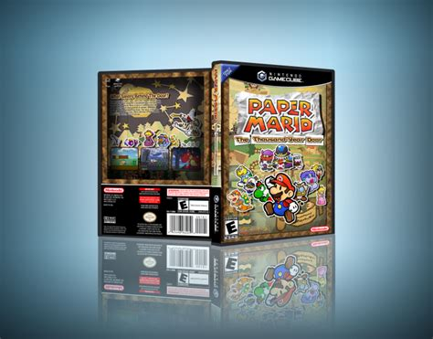 Mario Thousand Year Door by Paper Mario The Thousand Year Door Gamecube Box Cover