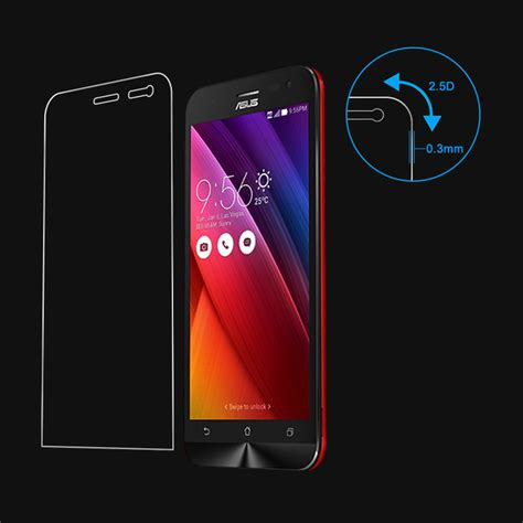 Tempered Glass Hyper Zenfone 2 Laser 5 Inch Free Wrap 2pcs for zenfone ze500kl tempered glass screen protector