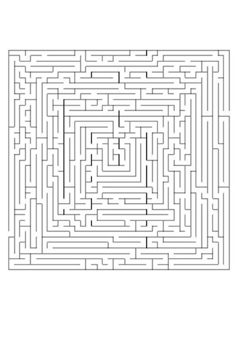 printable labyrinth maze difficult printable mazes be concentrated difficult