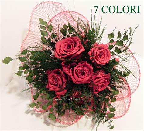 fiori riccione bouquet 6 stabilizzate fior di loto riccione