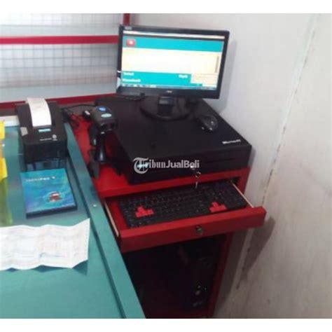 Meja Komputer Semarang paket komputer kasir meja kasir siap pakai semarang