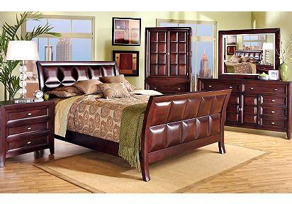 Hammond Bedroom Furniture Hammond Merlot Sleigh 5 Pc Bedroom Betterimprovement